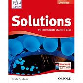 Solutions Second Edition Pre-Intermediate Student Book