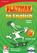 Playway to English (Second Edition) 3 Activity Book with CD-ROM