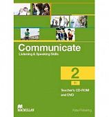 Communicate Level 2 Teacher's CD-ROM + DVD Pack