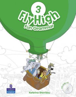 Fly High 3 Fun Grammar Pupil's Book (with Audio CD)