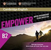 Cambridge English Empower Upper-Intermediate Class Audio CDs (3) (Лицензия)