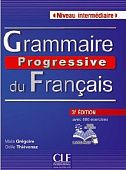 Grammaire progressive du francais 3e edition Intermediaire - Livre + CD audio - 680 exercices