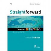 Straightforward (Second Edition) Elementary Class Audio CDs (Лицензия)