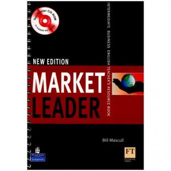 New Market Leader Intermediate Teacher's Resourse Book with Test Master CD-ROM
