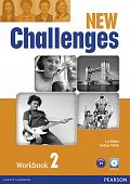 New Challenges 2 Workbook (with Audio CD)