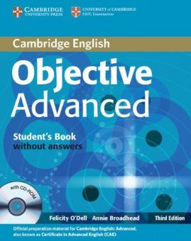 Objective Advanced (Third Edition) Student's Book without answers with CD-ROM