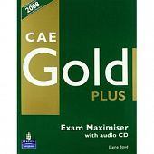 CAE Gold Plus Maximiser (without Key) and Audio CD