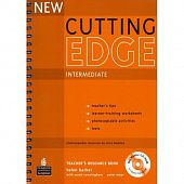 New Cutting Edge Intermediate Teacher's Book with Test Master CD-ROM