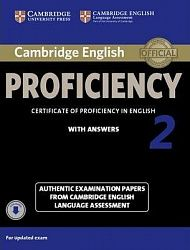 Cambridge English Proficiency 2 (for Updated Exam) Student's Book with Answers with Audio CDs (2)