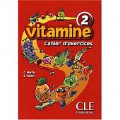 Vitamine 2 - Cahier d'exercices + CD audio + portfolio
