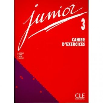 Junior 3 - Cahier d'exercices