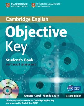 Objective Key (Second Edition) Student's Book without answers with CD-ROM