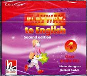 Playway to English (Second Edition) 4 Class Audio CDs (Лицензия)