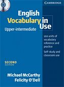 English Vocabulary in Use: Upper-intermediate (Second Edition) Book with answers and CD-ROM