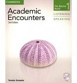 Academic Encounters 2nd Edition Level 1: The Natural World - Listening and Speaking Student's Book with DVD