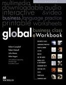 Global Pre-intermediate Student's Book + Business Class e-Workbook Pack