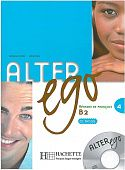Alter Ego 4 - Livre de l'eleve + CD audio
