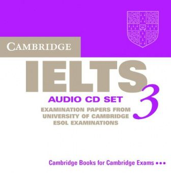 Cambridge IELTS 3 Audio CD Set (2 CDs) (Лицензия)