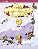 Our Discovery Island Level 4 Activity Book (with CD-ROM)