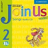 Join Us for English 2 Songs Audio CD (Лицензия)