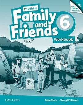 Family and Friends Second Edition 6 Workbook & Online Skills Practice Pack