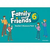 Family and Friends 6 Teacher's Resource Pack (including Photocopy Masters Book, and Testing and Evaluation Book)