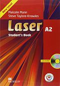 Laser Third Edition A2 Student's Book and CD ROM Pack + MPO