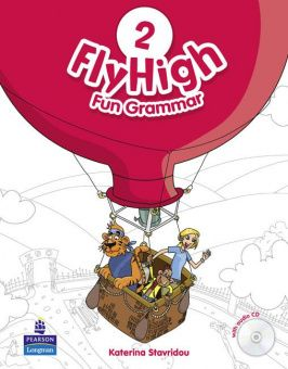 Fly High 2 Fun Grammar Pupil's Book (with Audio CD)