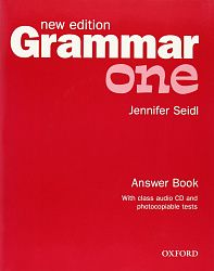 Grammar New edition One: Answer Book and Audio CD Pack
