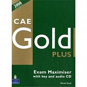 CAE Gold Plus Maximiser (with Key) and Audio CD
