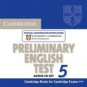 Cambridge Preliminary English Test 5 Audio CD Set (2 CDs) (Лицензия)