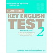 Cambridge Key English Test 2 Teacher's Book