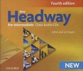 New Headway Pre-Intermediate Fourth Edition Class Audio CDs (3)
