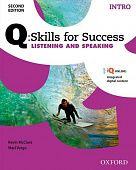 Q: Skills for Success Second Edition Listening and Speaking Intro Student Book with IQ Online