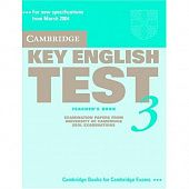 Cambridge Key English Test 3 Teacher's Book