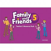 Family and Friends 5 Teacher's Resource Pack (including Photocopy Masters Book, and Testing and Evaluation Book)