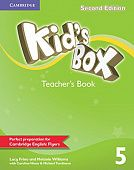Kid's Box Second Edition 5 Teacher's Book