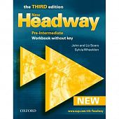 New Headway Pre-Intermediate Third Edition Workbook (Without Key)