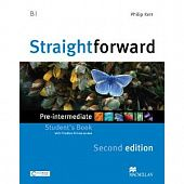Straightforward (Second Edition) Pre-Intermediate Student's Book + Webcode