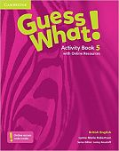 Guess What! Level 5 Activity Book with Online Resources