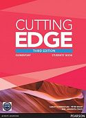 Cutting Edge 3rd Edition Elementary Students' Book (with DVD)
