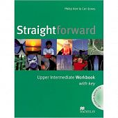 Straightforward Upper Intermediate Workbook with Key Pack
