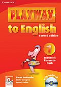 Playway to English (Second Edition) 1 Teacher's Resource Pack with Audio CD