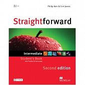 Straightforward (Second Edition) Intermediate Student's Book with eBook & Practice Online Access