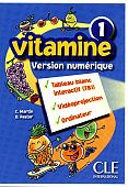 Vitamine 1 - Version numerique collective - CD-Rom TBI