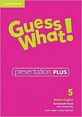 Guess What! Level 5 Presentation Plus DVD-ROM