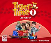 Tiger Time 1 Class Audio CDs