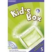 Kid's Box  Level 5 Teacher's Resource Pack with Audio CD