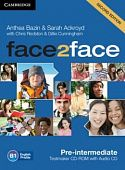 face2face (Second Edition) Pre-intermediate Testmaker CD-ROM and Audio CD