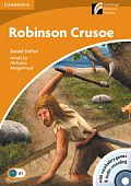 Robinson Crusoe with CD-ROM and Audio CD